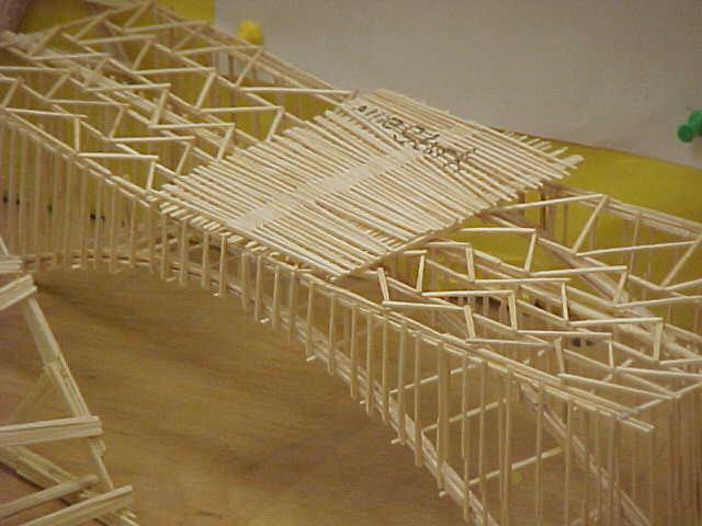 Steel Bridge Or Toothpicks Extramilegirl S Blog